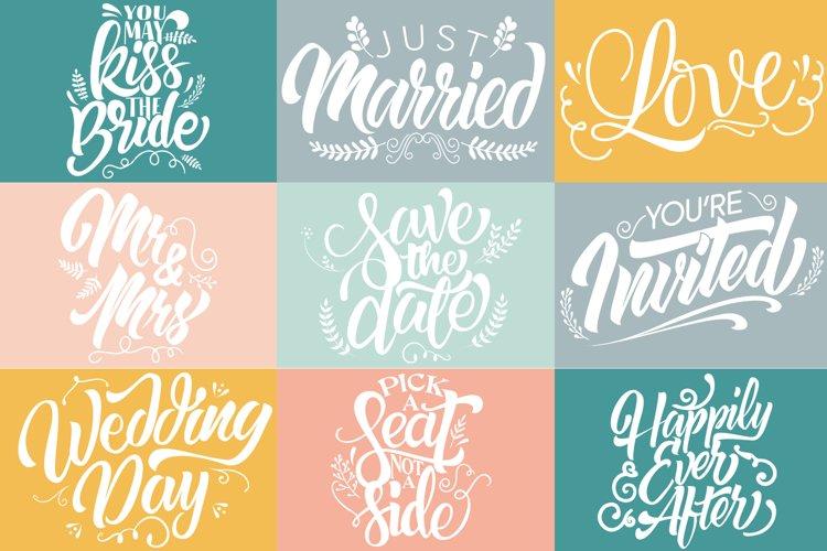 Wedding SVG Cut Files Bundle - Wedding Quotes - Wedding SVG
