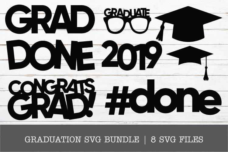 GRAD SVG BUNDLE example image 1