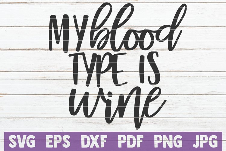 My Blood Type Is Wine example image 1