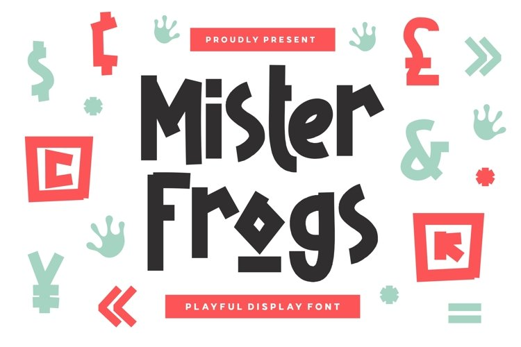 Mister Frogs - Display Font example image 1
