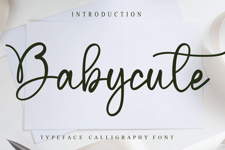 Babycute example image 1