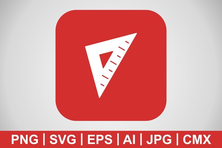 Vector Set Square Icon example image 1