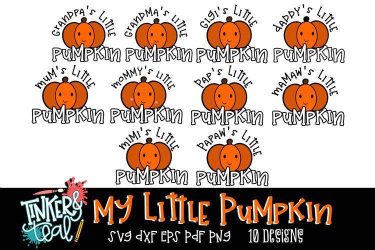 My Little Pumpkin SVG Bundle