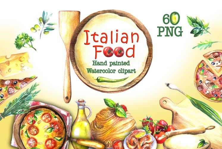 Food Watercolor Clip Art example image 1