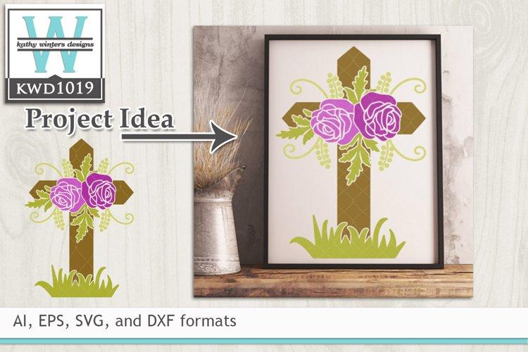 Faith/Scripture SVG - Decorative Cross
