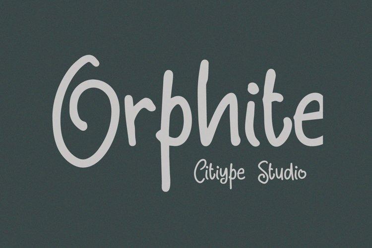 Orphite example image 1