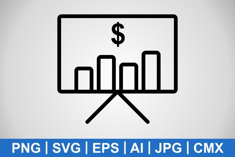 Vector Business Plan Icon example image 1