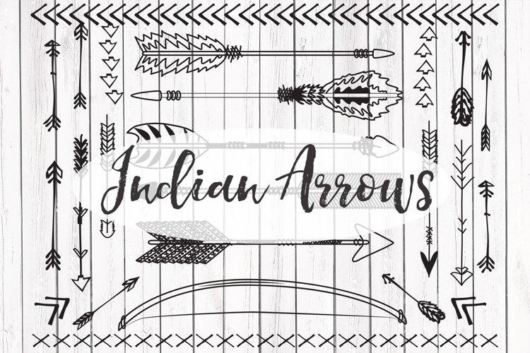 Vector Indian arrows clipart