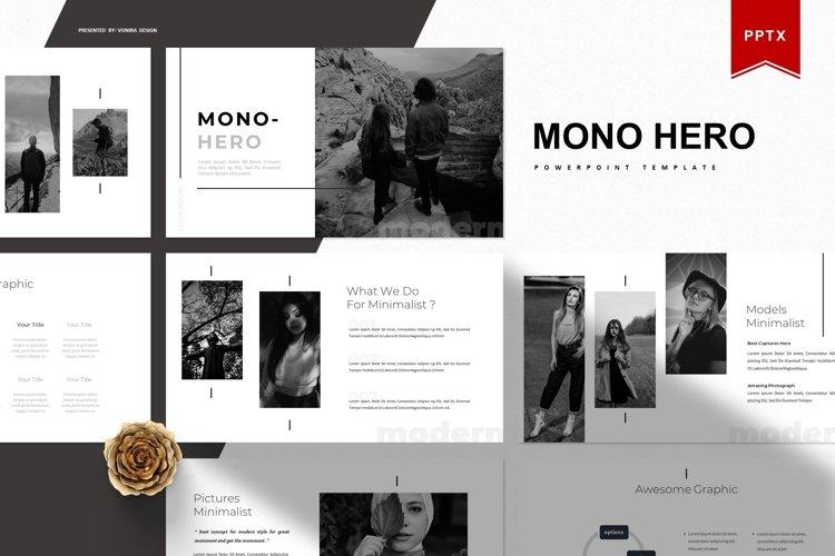 Mono Hero   Powerpoint Template example image 1