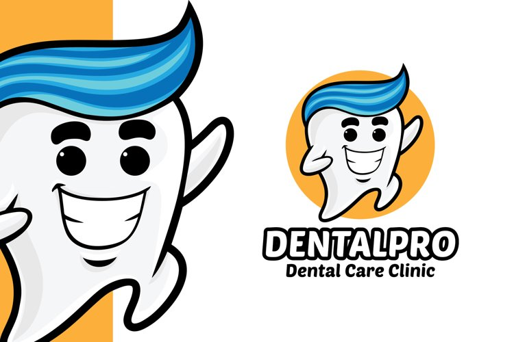 Tooth Dental Clinic Logo Template