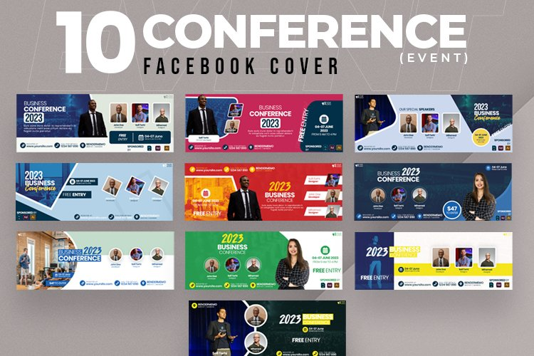 Event & Conference 10 Facebook Cover example image 1