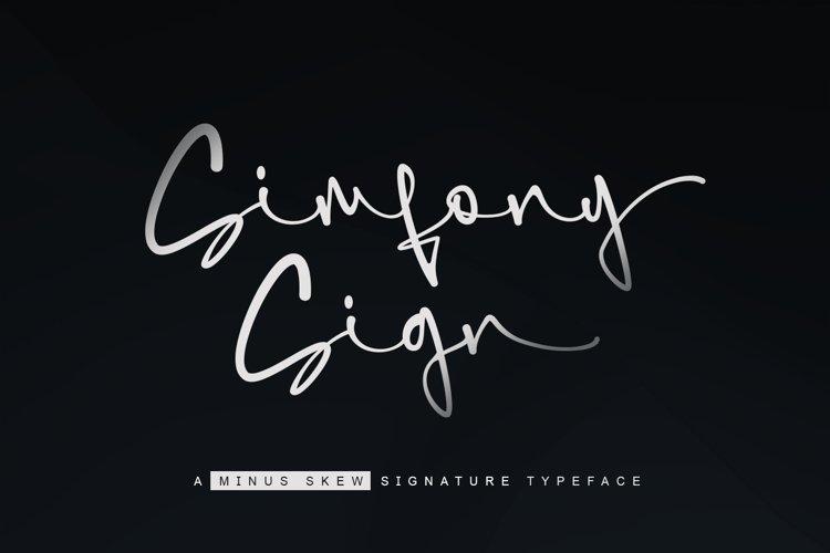 SimfonySign - Signature example image 1