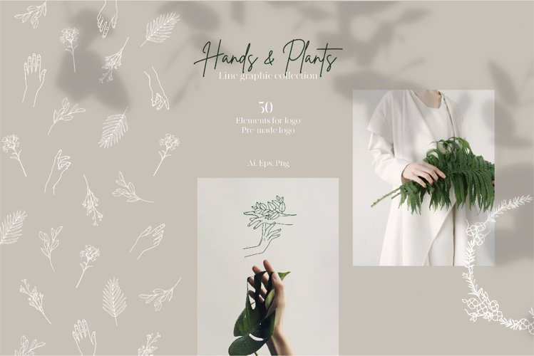 Hands and Plants