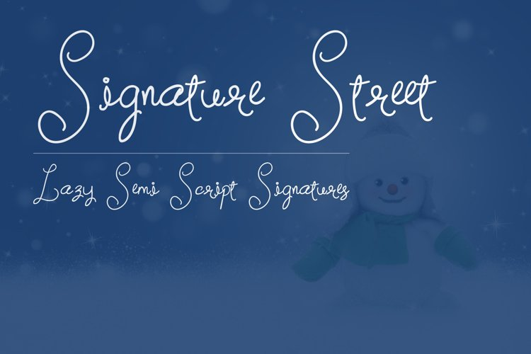 Signature Street example image 1