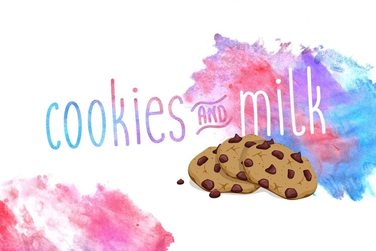 Cookies and Milk  example image 1