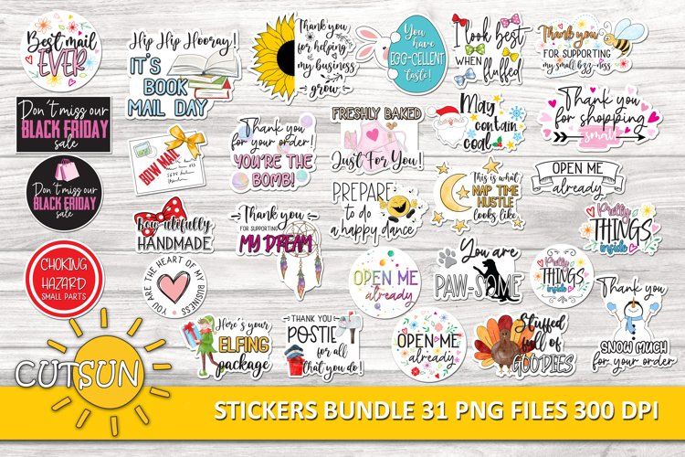 Small business stickers bundle | Packaging Stickers bundle