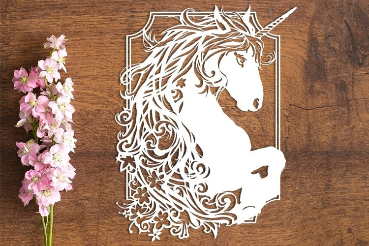 Exuberance - PDF Template for Paper Cutting by hand