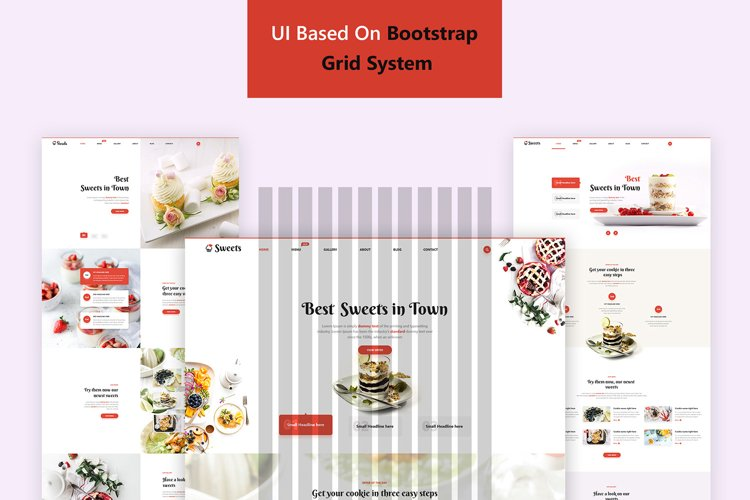 Sweets Ui Kit example image 1