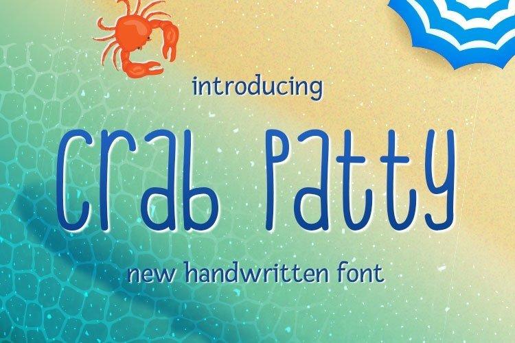Web Font Crab Patty example image 1