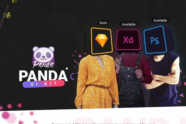 Panda Mobile UI Kit