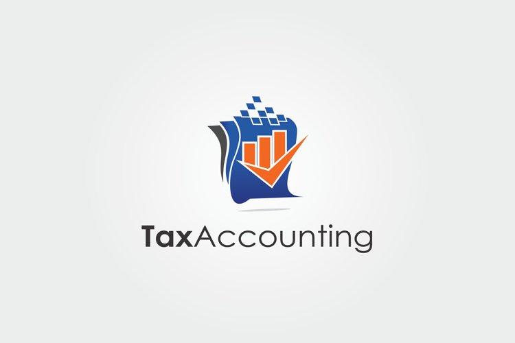 Tax Accounting Logo example image 1