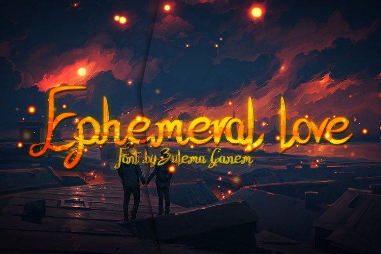 Ephemeral Love example image 1