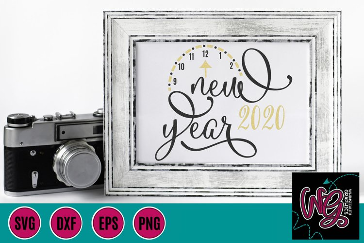 New Year 2020 SVG, DXF, PNG, EPS
