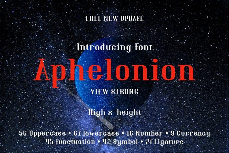 Aphelonion example image 1
