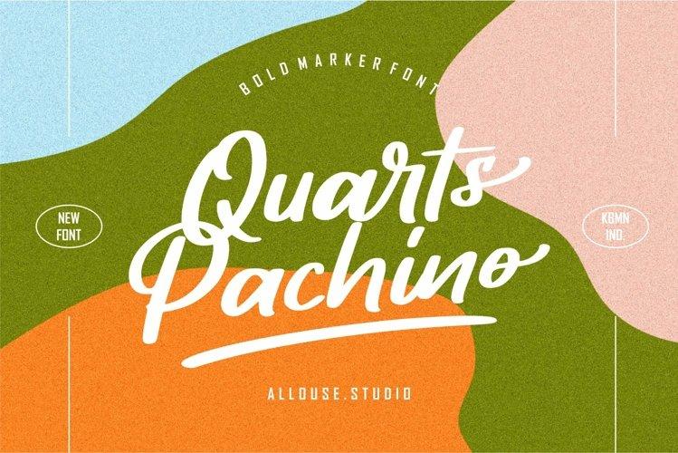 Web Font - Quarts Pachino example image 1