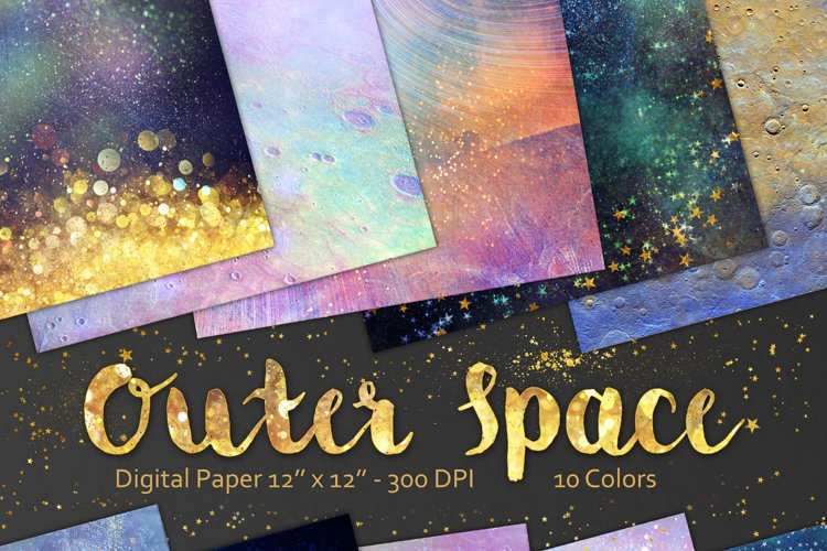 Outer Space Backgrounds example image 1