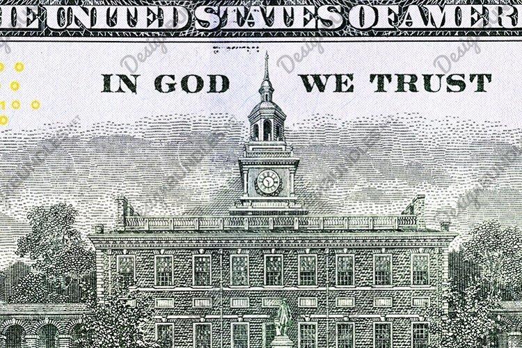 reverse American dollars of paper money example image 1