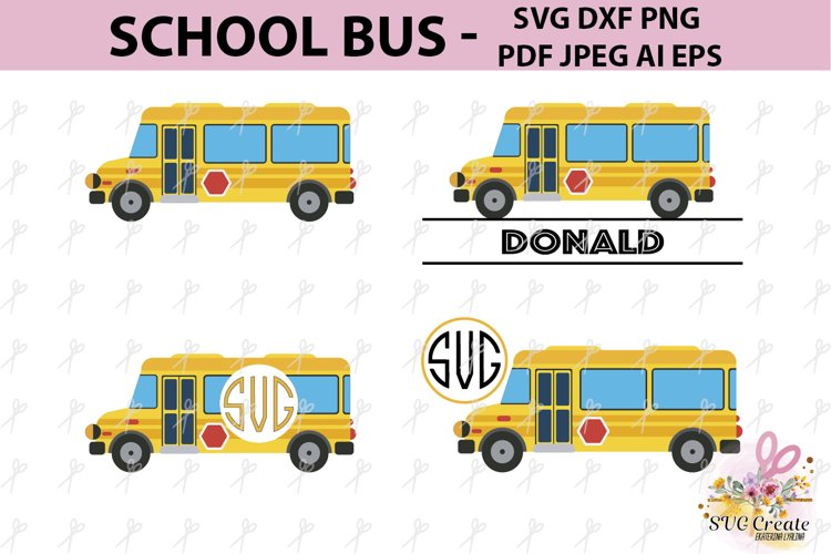 School bus, driver gift, school clipart, cut svg, bus driver example image 1