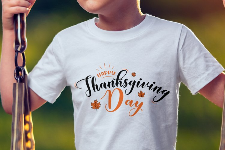 Happy Thanksgiving Day Svg | Fall Svg example image 1