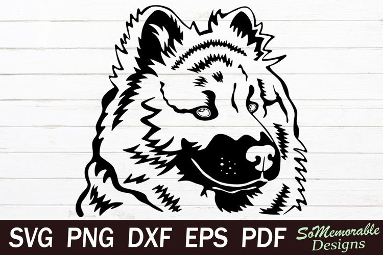 Chow chow SVG cut file, Chow chow svg design