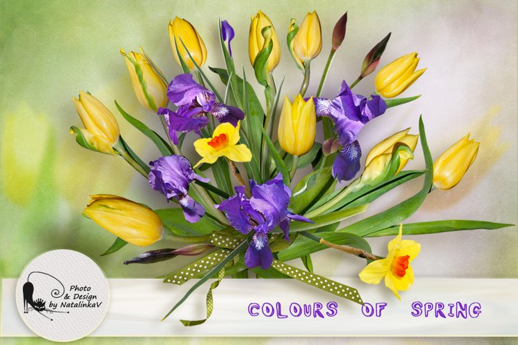 """Kit """"Colours of spring"""" by NatalinkaV design example image 1"""