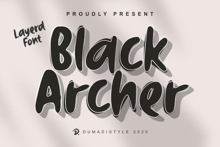 Black Archer example image 1