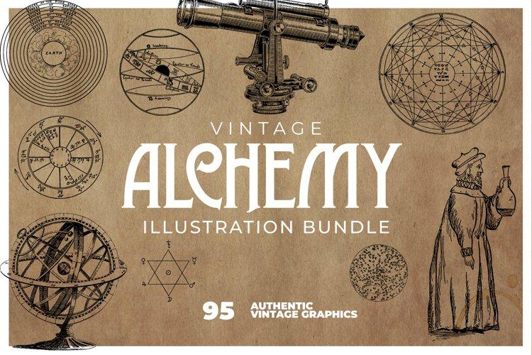 Vintage Alchemy and Anatomy Illustrations