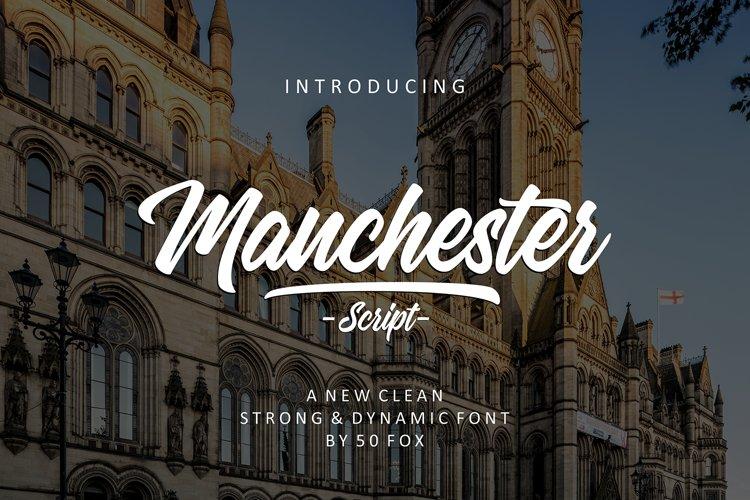 Manchester Script Font