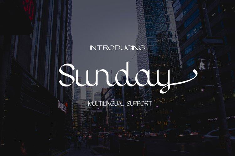 Sunday example image 1