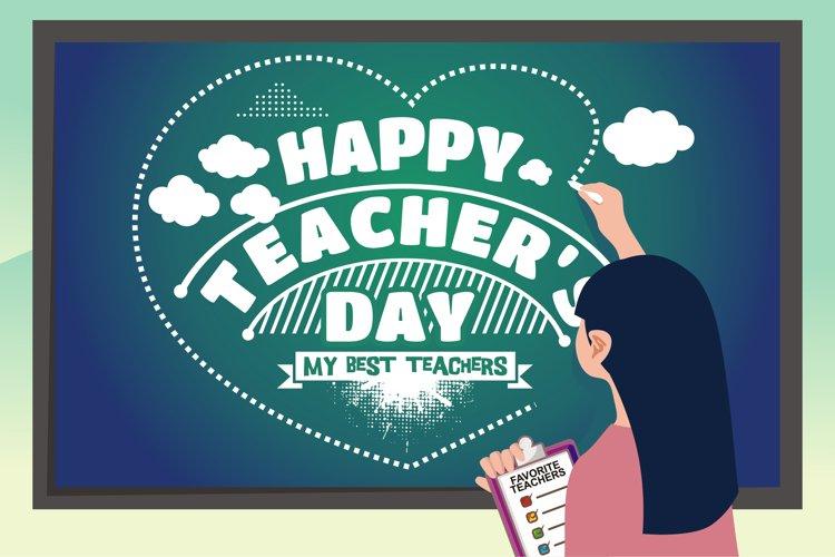 World Teachers Day illustration