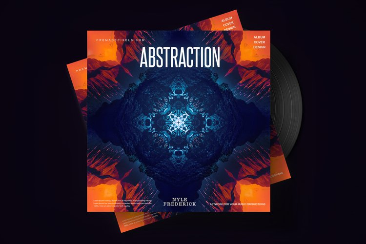 Abstraction Album Cover example image 1