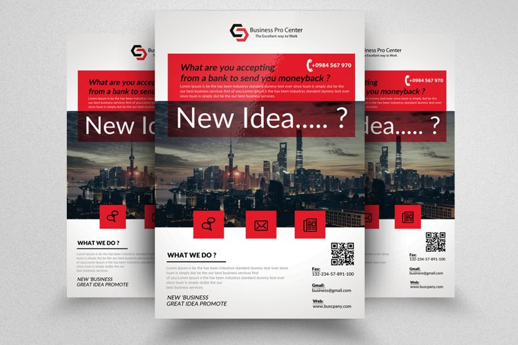 Personal Finance Flyer Template example image 1