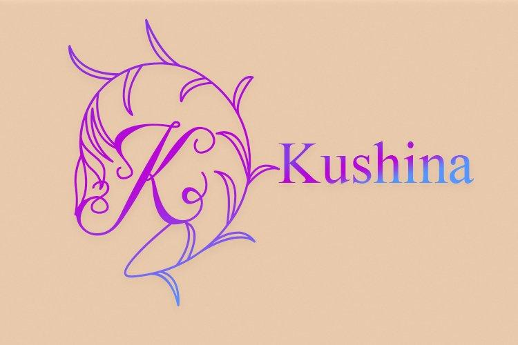 Kushina Monogram example image 1