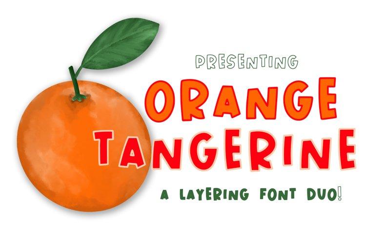 Orange Tangerine example image 1