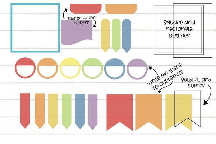 Planner Stamps For Procreate App