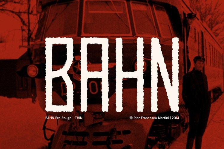 BAHN Pro Rough - THIN example image 1