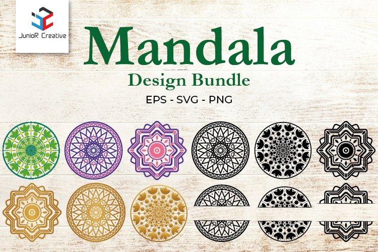 Mandala SVG Files Bundle - 12 Cut Files SVG