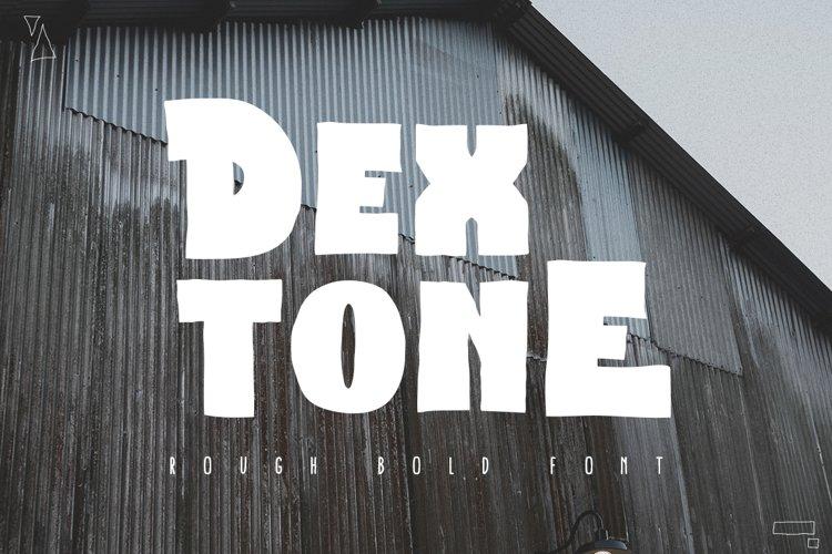 Dextone Typeface example image 1