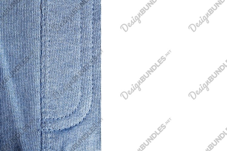 cotton dyed blue example image 1