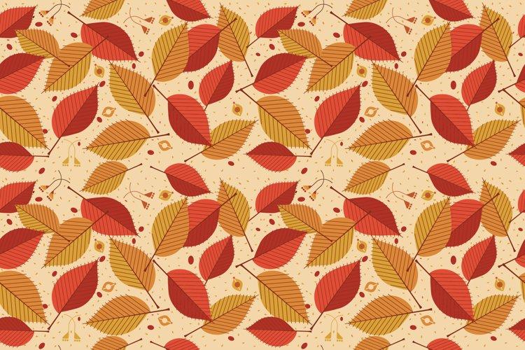 Autumn Leaf Pattern example image 1